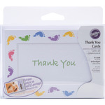 Baby Feet - Thank You Card Kit Makes 20