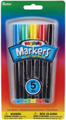 Primary Colors - Foam Markers 5/Pkg
