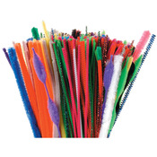 "Assorted - Chenille Stems 12"" 350/Pkg"