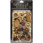 #1 - Jewelry Basics Wood Bead Mix 5.3oz