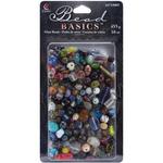 Multi - Jewelry Basics Glass Bead Mix 16oz