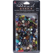 Multi - Jewelry Basics Glass Bead Mix 16oz