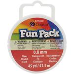 Fun Pack Stretch Cord Spool - Clear
