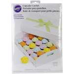 24 Cavity White 1/Pkg - Cupcake Box Folding Tray