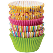 Dots & Stripes 150/Pkg - Standard Baking Cups