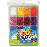 Fun Color - Perler Fused Bead Tray 4000/Pkg