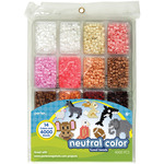Neutral Color - Perler Fused Bead Tray 4000/Pkg