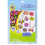 Neon Jewelry - Perler Fun Fusion Fuse Bead Activity Kit