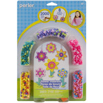 Flower Madness - Perler Fun Fusion Fuse Bead Activity Kit