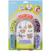 Rainbow Butterflies - Perler Fun Fusion Fuse Bead Activity Kit