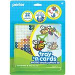 Tray 'n Cards - Perler Fun Fusion Fuse BIGGIE Bead Pattern Kit