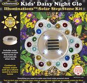 Kids' Daisy Night Glow - Mosaic Stepping Stone Kit