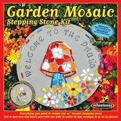 Garden - Mosaic Stepping Stone Kit