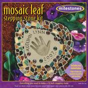 Leaf - Mosaic Stepping Stone Kit