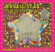 Star - Mosaic Stepping Stone Kit