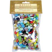Assorted - Vitreous Glass Mosaic Tile 1lb