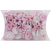 Breast Cancer Awareness - Dress It Up Buttons Grab Bag