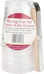 8 Ounces 6/Pkg - Mixing Cup Set