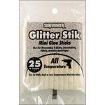 "Opal/Glitter - All-Temp Glitter Stik Mini Glue Sticks .27""X4"" 25/Pkg"
