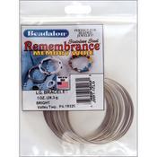 Large Bright - Memory Wire Bracelet 1oz/Pkg