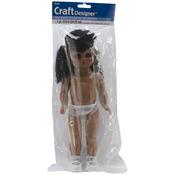 """Black Skin - Full Doll 13.5"""""""