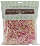 Pink and Natural - Aspenwood Excelsior 328 Cubic Inches