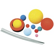 Painted - Styrofoam Solar System Kit