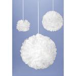 White - Tissue Pom-Pom Kit Makes 3