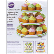 """White 12""""X10.5"""" Holds 24 Cupcakes - Cupcake Stand"""