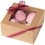 4 Cavity Kraft 3/Pkg - Cupcake Boxes