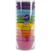 Rainbow Brights 300/Pkg - Standard Baking Cups
