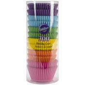 Rainbow Brights 300/Pkg - Standard Baking Cups