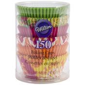 Neon Florals 150/Pkg - Standard Baking Cups