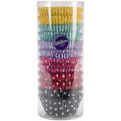 Polka Dots 300/Pkg - Standard Baking Cups