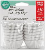 White 350/Pkg - Mini Baking Cups