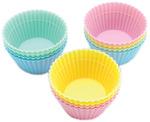 Round 12/Pkg - Silicone Standard Baking Cups