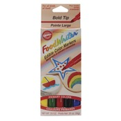 Primary - Food Writer Bold Tip Edible Color Markers .35oz 5/Pkg