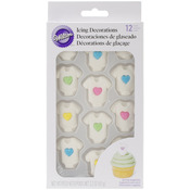 Baby Heart Tee - Royal Icing Decorations