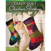 Design Originals - Crazy Quilt Christmas Stockings