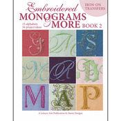 Embroidered Monograms And More: Book 2 - Leisure Arts