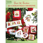 Fast & Festive, 50 Christmas Designs - Leisure Arts