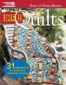 Best Of Fons & Porter: Easy Quilts - Leisure Arts