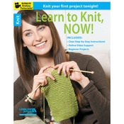 Learn To Knit, Now - Leisure Arts