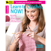 Learn To Crochet, Now - Leisure Arts
