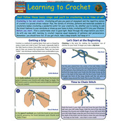 Learning To Crochet - Quick Study Reference Guide