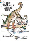 Dinosaur Coloring Book - Dover Publications