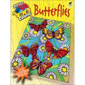 Butterflies Coloring Book 3D - Dover Publications