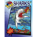 Sharks Coloring Book 3D - Dover Publications