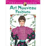 Dover Publications - Creative Haven Art Nouveau Fashions