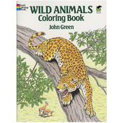 Wild Animals Coloring Book - Dover Publications